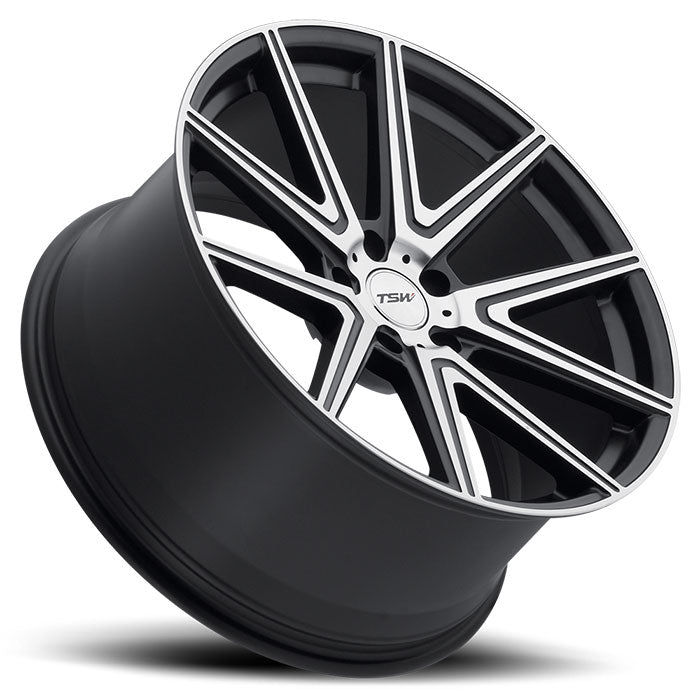 "TSW Rouge 18"" Wheel/Tire Set Tesla Model 3TSWEV Tuning"