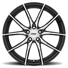 "TSW Sprint 20"" Staggered Wheel/Tire Set Tesla Model 3TSWEV Tuning"