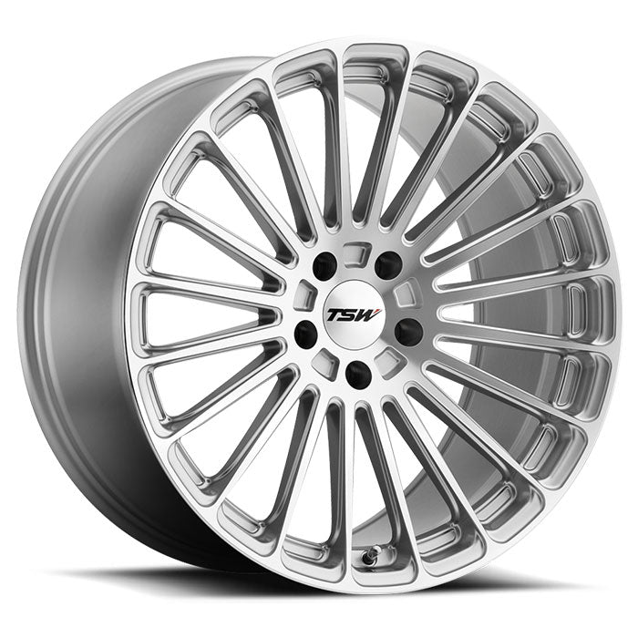 "TSW Turbina 18"" Wheel/Tire Set Tesla Model 3"