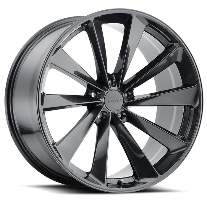 "TSW Aileron 20""/21""/22"" Wheels for Tesla Model X Metallic Gunmetal"