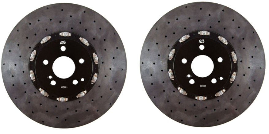 RB-CCB Kit (390x34mm) Carbon Ceramic Front Rotors 2C96-K