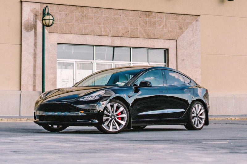 Tesla Model 3 Rally Armor MF62-UR-BLK* 2017+ Black Mud FlapRally ArmorEV Tuning