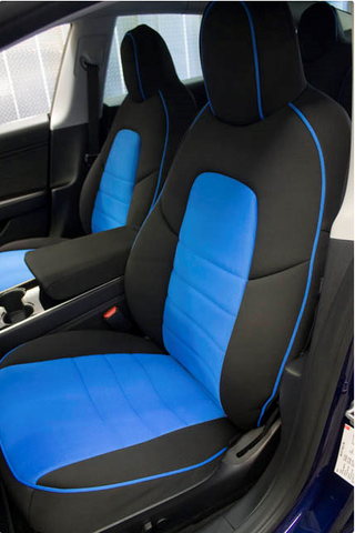 Wet Okole Half Piping Front Seat Covers for Tesla Model 3
