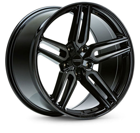 "19""/20""/21""/22"" Vossen HF-1 Flow Formed Wheels for Tesla Model X Black"