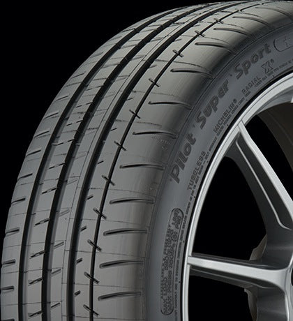 Set of 4 Michelin Pilot Super Sport Tires 245/35/R21 w/ Acoustic Tech OE Tesla Model STiresEV Tuning