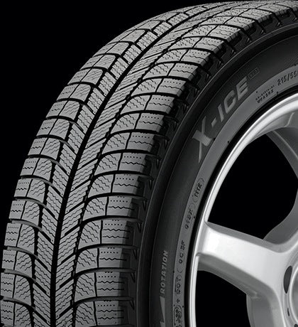 Michelin X-ice 245/45/19 Winter Tires for Tesla Model S