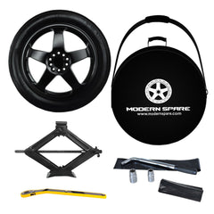 2012-2018 Tesla Model S Spare Tire Complete Kit with Carrying Case