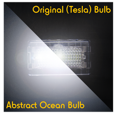 Tesla LED Interior Lights Bulbs contrast