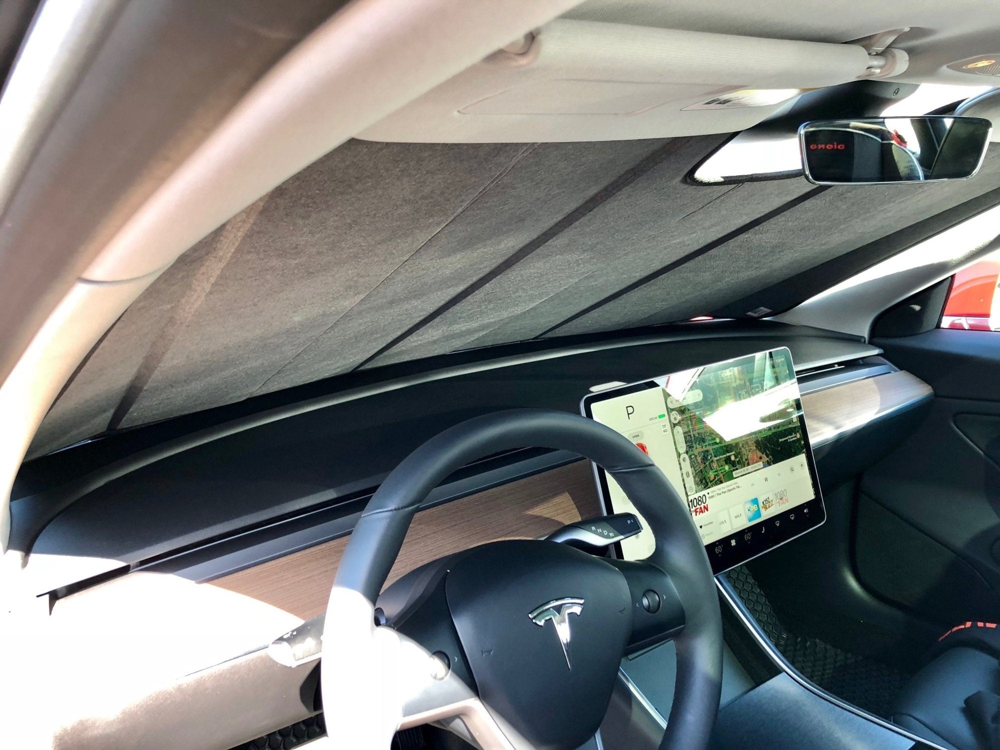Tesla Model 3 Ultimate Reflector Sun Shade TE-03-R / TE-03-RG