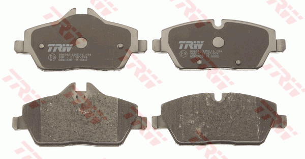 BMW i3 Front Brake Pad Set - TRW