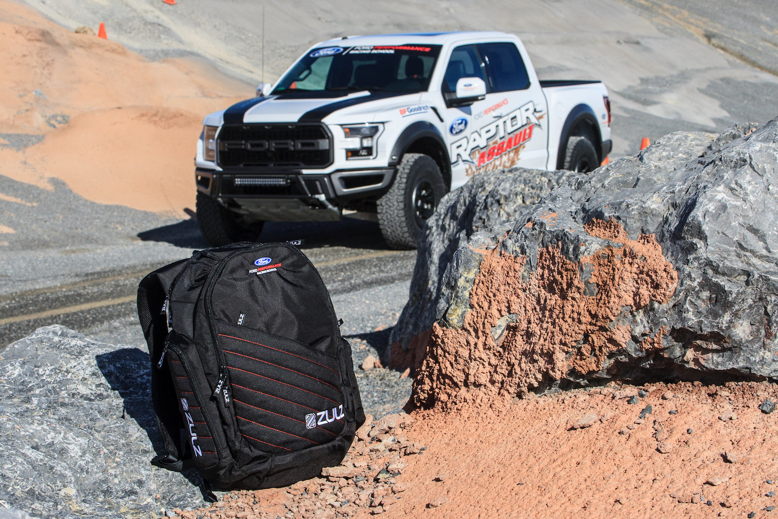 Ford Performance Racing School backpack