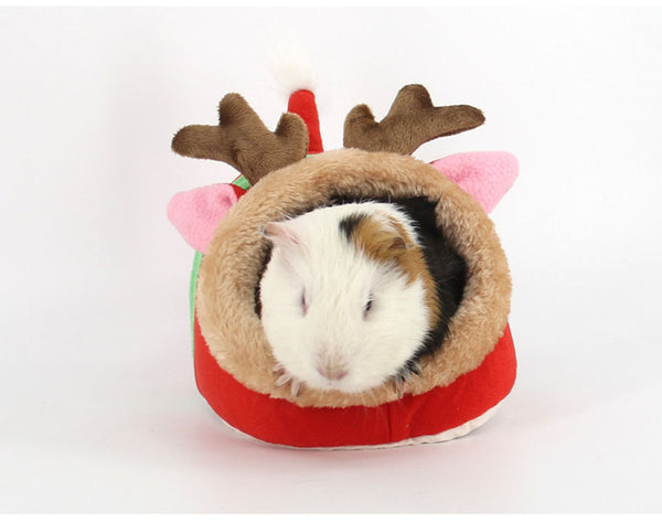 Winter Warm Cartoon Cotton Holiday Pet Bed