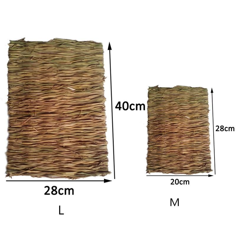 Natural  Grass Mat / Pet Chew,  Small Animal Toys 2 Sizes - the-cavy-closet