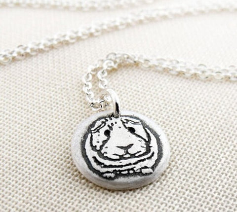 Happy Guinea Pig Necklace - the-cavy-closet