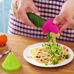 VEGGIE Shredding Kitchen Spiral Slicer /  Carrot Cutter - the-cavy-closet