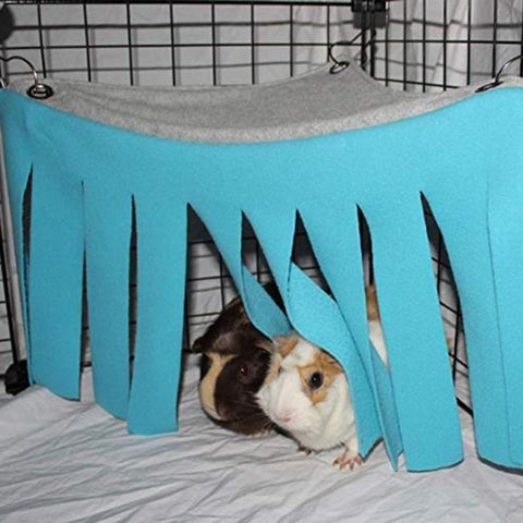 Corner Curtain Hideaway For Guinea Pigs
