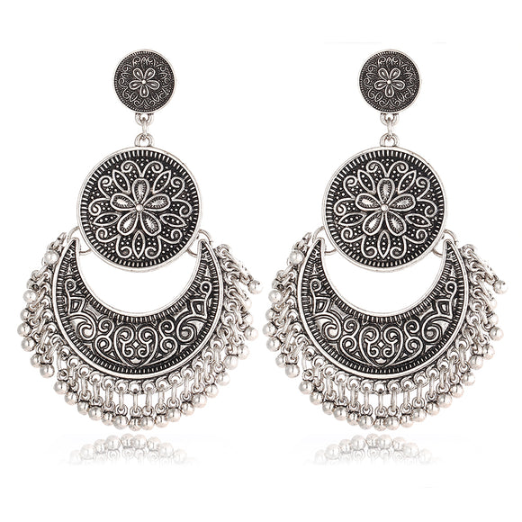 Set boucles d'oreille indienne