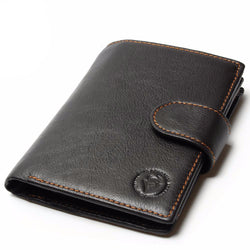 Men Retro Vintage Passport Wallet