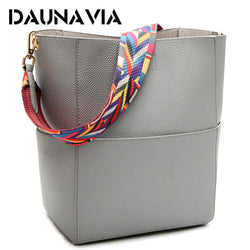 DAUNAVIA New Ladies Vintage Satchel Retro Cross-body Shoulder Bag Purse