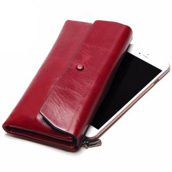 Leather Cell Phone Wallet Purse by Tauren
