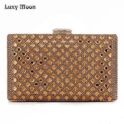 Luxy Moon Women Crystal Evening Clutch