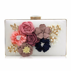 Milisente Lady Flower Day Clutch Purse