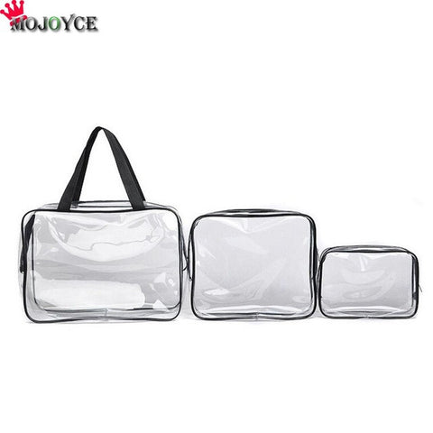 3PCS/Set Waterproof Transparent Bag