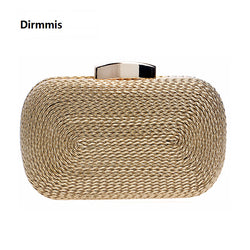 2018 New Exquisite Woven Women Evening Purse