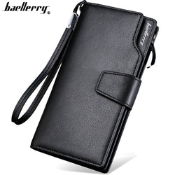 Baellerry Top Quality  leather long Multi-functional Women Wallet  Purse