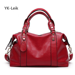 YK-Leik  Women's Genuine Leather Shoulder bag Purse