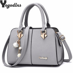 Yogodlns PU Leather Top Handle Shoulder Bag Purse