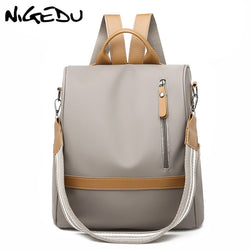 Women Anti Theft Multi-functional Waterproof Backpack Purse