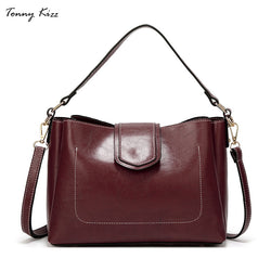 Tonny Kizz Vintage Soft PU Leather Shoulder Bag Purse