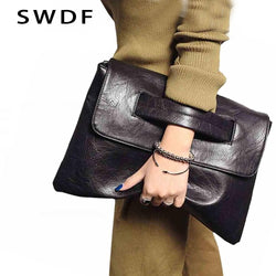SWDF New Fashion Women Envelope Clutch Bag Purse