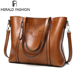 Herald Fashion Large Capacity Women Shoulder Bag Purse