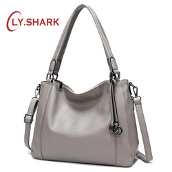 LY.SHARK  Women Shoulder Bag PU Leather Purse
