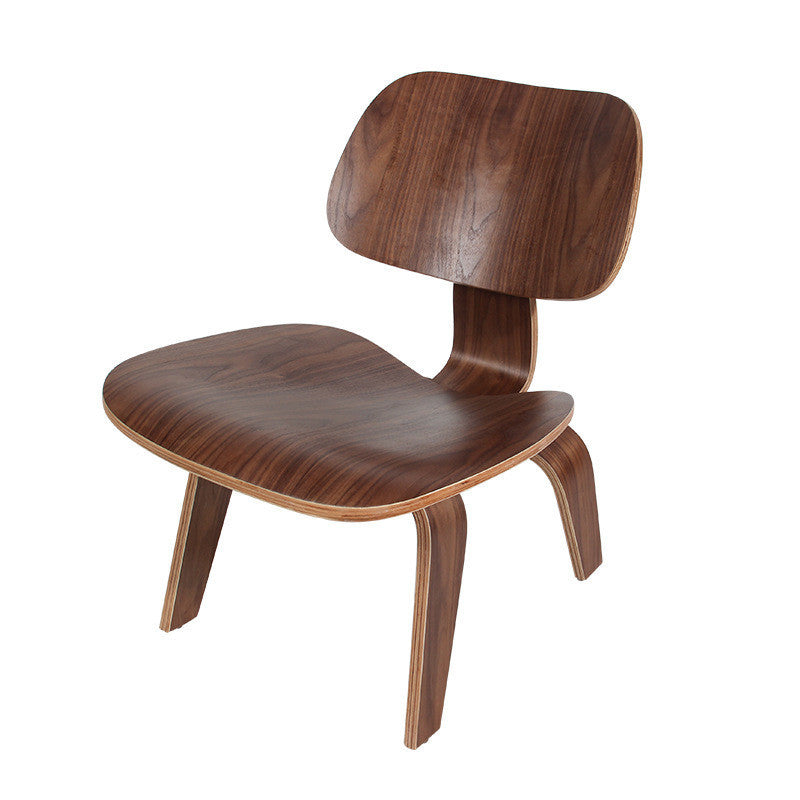 WALIMO Modern Wooden Lounge Chair