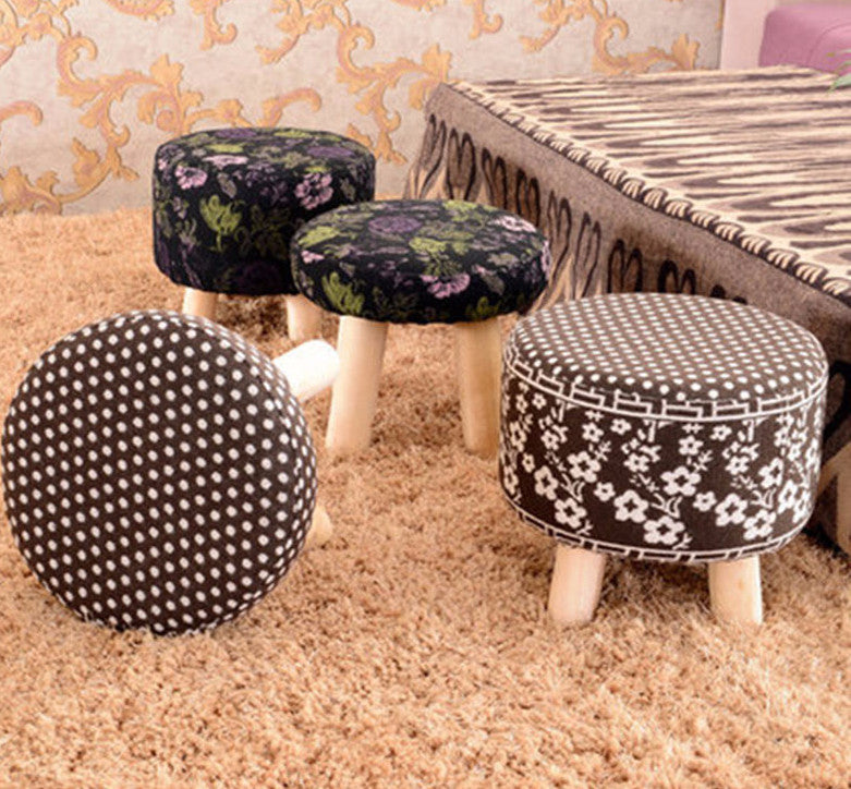 23 Styles Fashion small Stool - Solid Wood