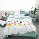 Princess Floral Bedding Set