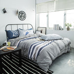 Fashion Stripes Bedding Sets- Queen/ Full/ Double/ Twin