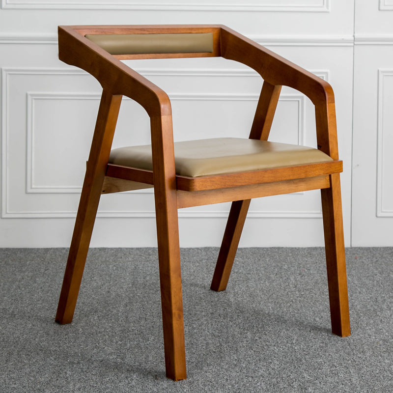 Louis Fashion Nordic Solid Wooden Desk Chair