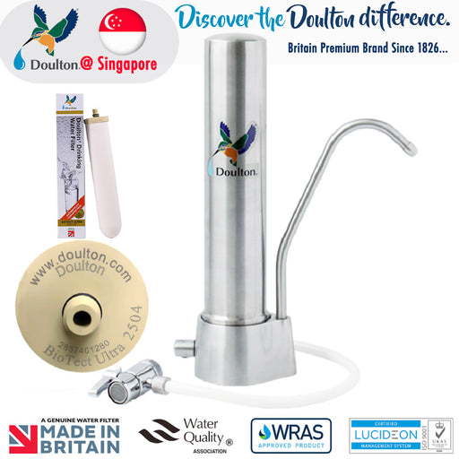 Doulton HQS Biotect Ultra Natural, HealthY Finest Great Tasting Drinking Water System