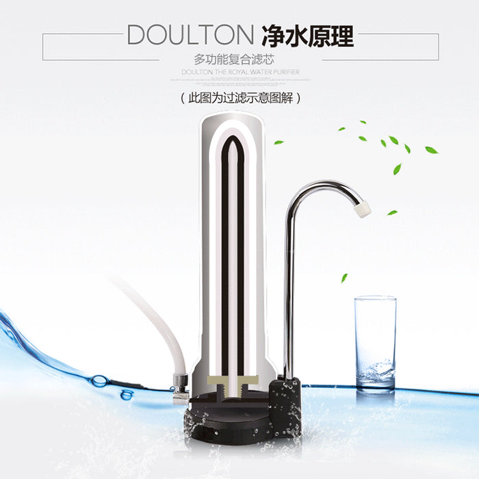 [FREE Dechlorinating Showerhead Filter] Doulton HCP Biotect Ultra Natural, Healthy, Finest Great Tasting Drinking Water System