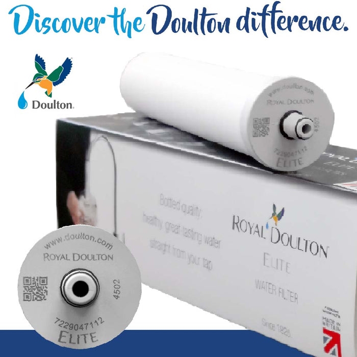 ROYAL DOULTON ELITE UNDER-COUNTER COMPLETE SYSTEM