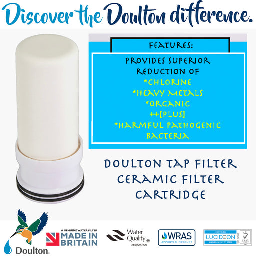 Replacement Cartridge for Doulton Tap Filter Only