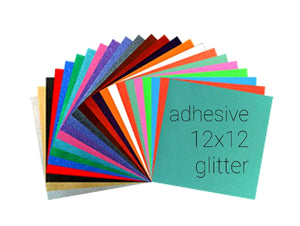 Adhesive Glitter Sample Packs