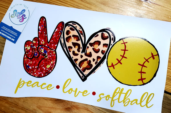 Peace*love*softball