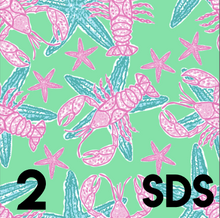Lobsters and Starfish Print Collection