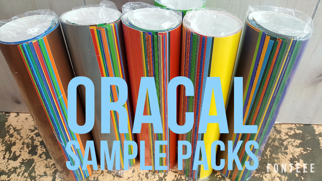Oracal 651 Sample Packs