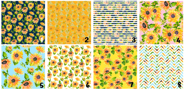Sunflower Printed Vinyl